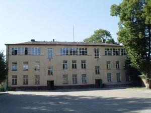 Obecny budynek internatu